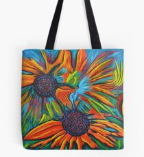 Daisy chain reaction Tote Bag