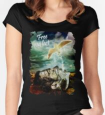 Free at Last Women's Fitted Scoop T-Shirt