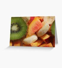 Summer Salad Greeting Card