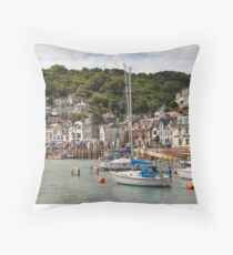 Looe, Cornwall Throw Pillow
