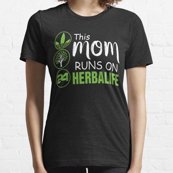 Cette maman court sur le t-shirt Herbalife, la chemise de maman Herbalife T-shirt essentiel
