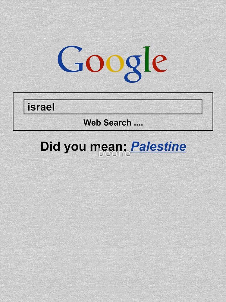 Google Web Search Palestine | Unisex T-Shirt