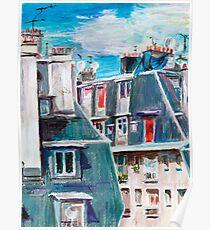 Paris, Ordener Str. Poster
