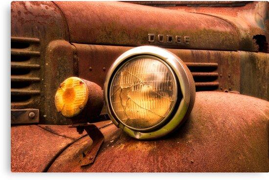 Rusty Truck by Jane Best
