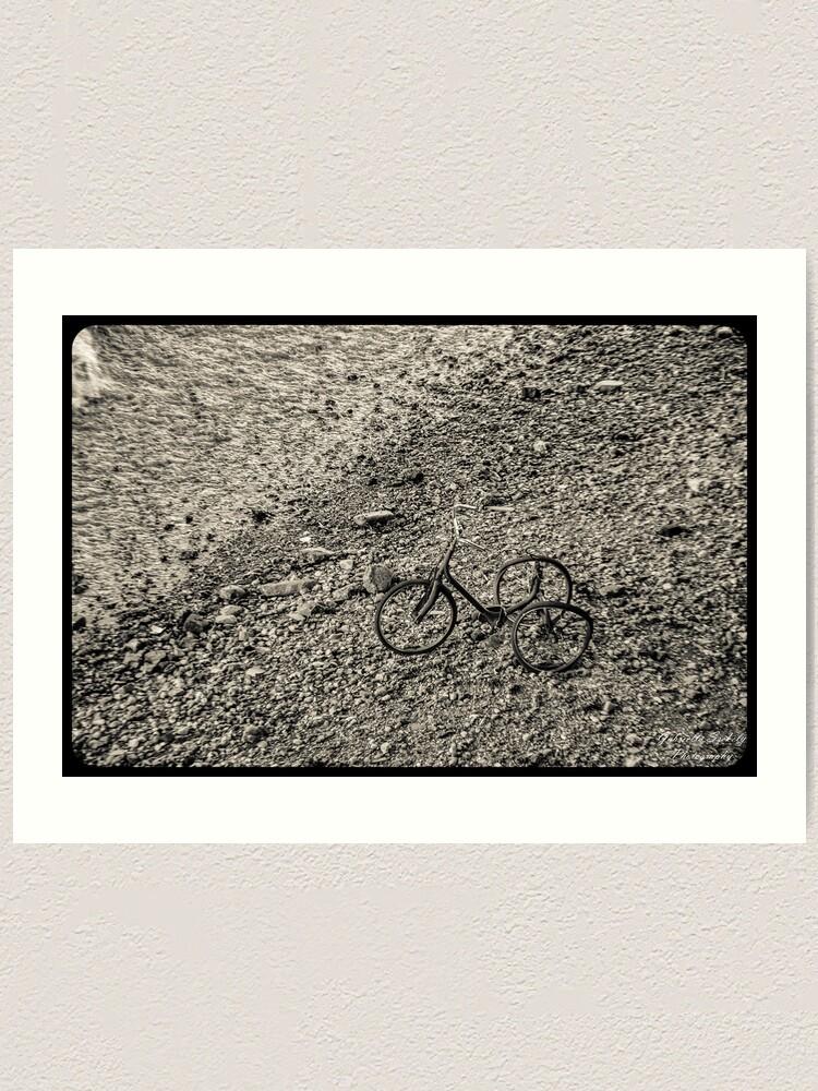 Alternate view of The last ride Art Print