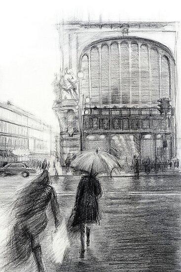 Rain by Tatiana Ivchenkova
