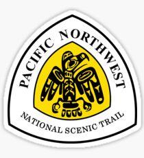 Pacific Northwest Trail Sign, USA Sticker