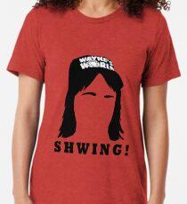 Wayne's World Shwing  Tri-blend T-Shirt
