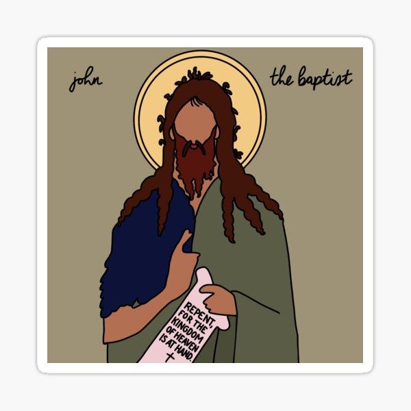 John The Baptist Sticker