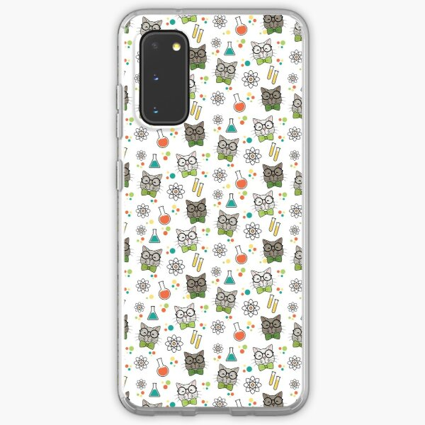 Science Cat Samsung Galaxy Soft Case