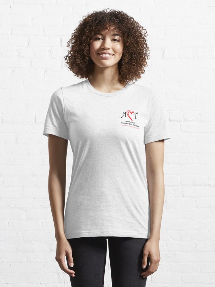 Alternate view of Association of Complete Mind Therapists (ACMT) Logo Essential T-Shirt