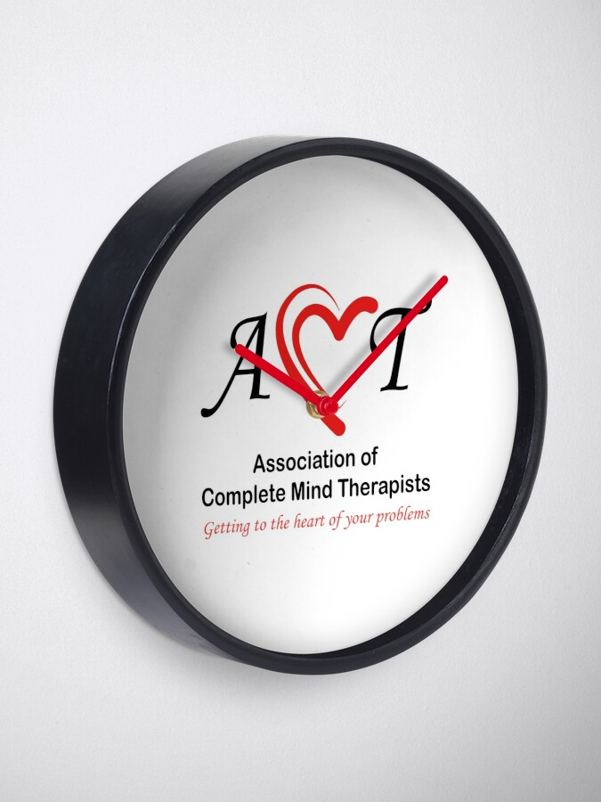 Alternate view of Association of Complete Mind Therapists (ACMT) Logo Clock