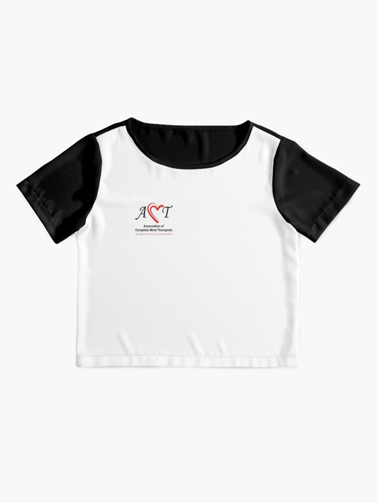 Alternate view of Association of Complete Mind Therapists (ACMT) Logo Chiffon Top