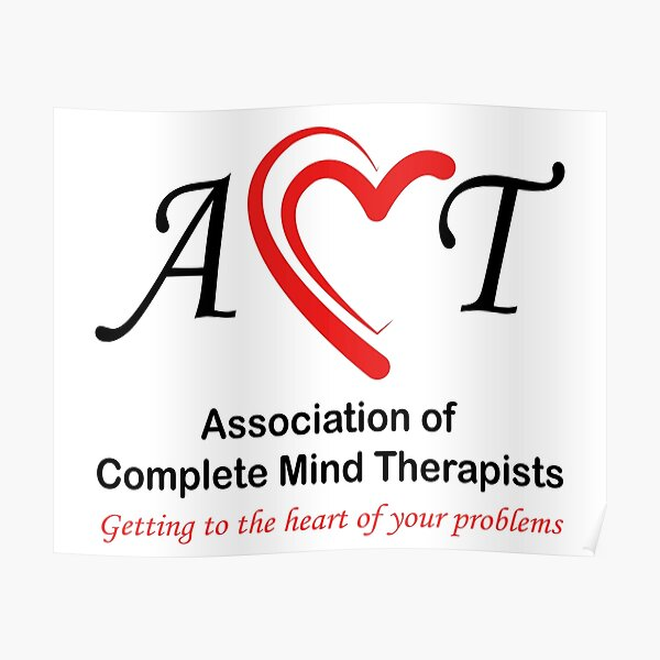 Association of Complete Mind Therapists (ACMT) Logo Poster