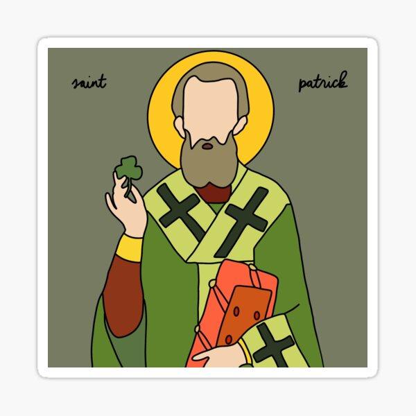 Saint Patrick Sticker