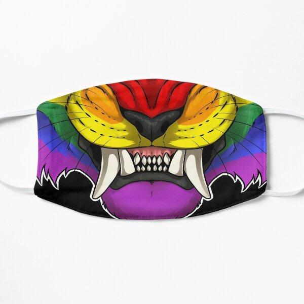 Rainbow Tiger Snarl Mask