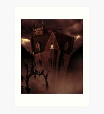 House In The Hollow Art Print