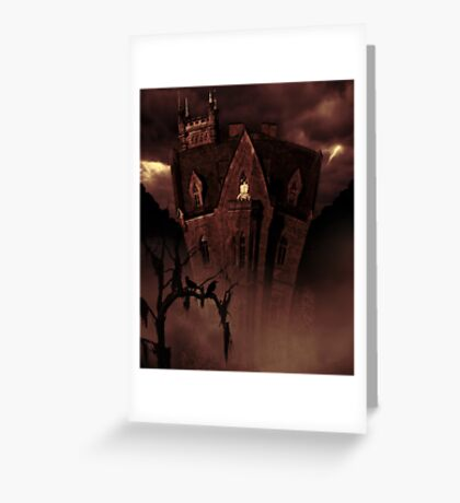 House In The Hollow Greeting Card