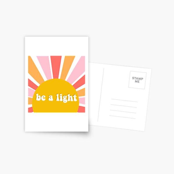 Be A Light Postcard