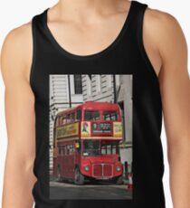 Vintage Red London Bus Tank Top