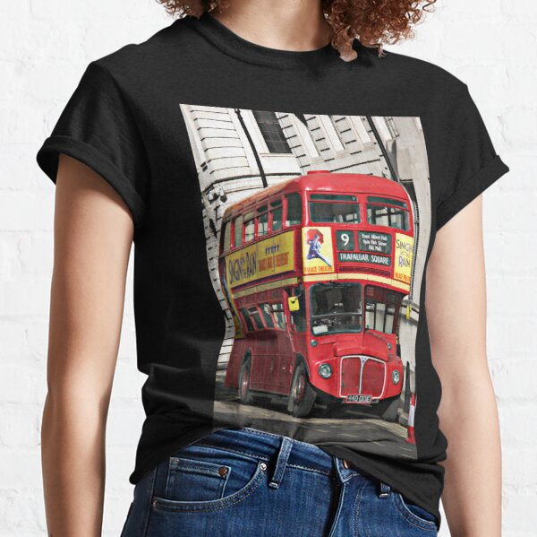 Vintage Red London Bus Classic T-Shirt