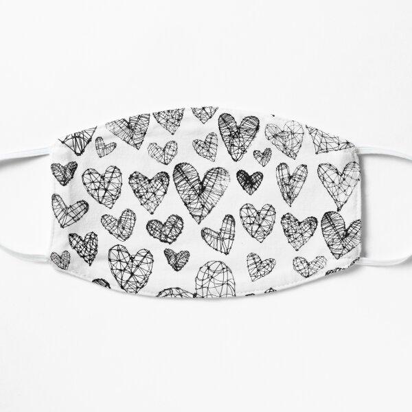 Wire Hearts Pattern Mask