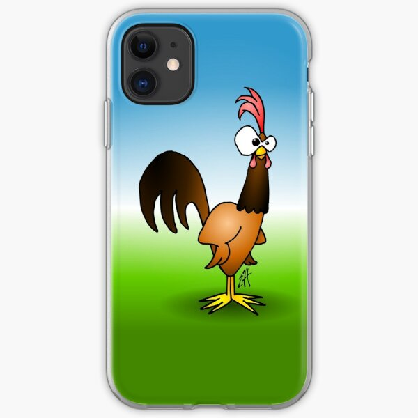 Rooster iPhone Soft Case