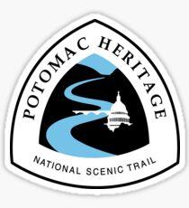 Potomac Heritage Trail Sign, USA Sticker