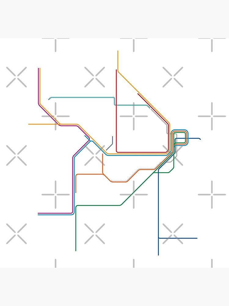 Sydney Train Map by in-transit