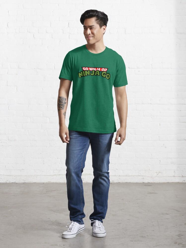 Alternate view of GO NINJA GO Essential T-Shirt