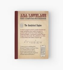 Ada Lovelace: First Computer Programmer Hardcover Journal