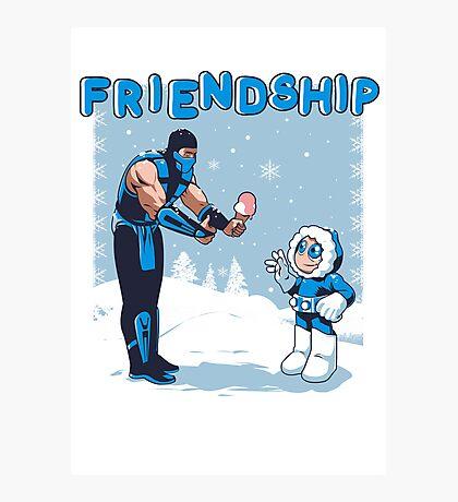 COOL FRIENDSHIP Photographic Print