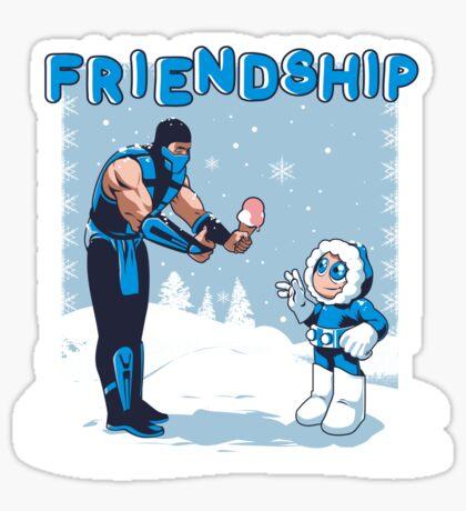 COOL FRIENDSHIP Sticker