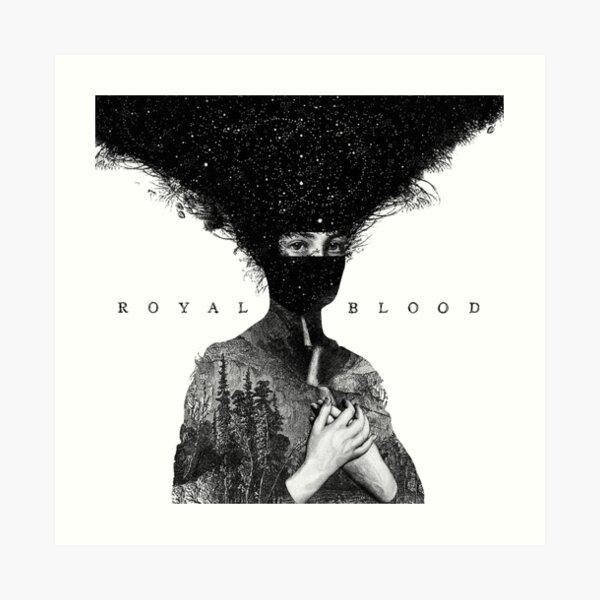 THE ART COVER ALBUM NEWS AND POPULAR ROYAL BLOOD 04 99NAME Art Print