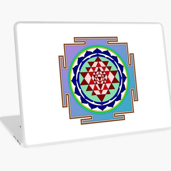 The Sri Yantra is a form of mystical diagram, known as a yantra, found in the Shri Vidya school of Hindu tantra. Laptop Skin