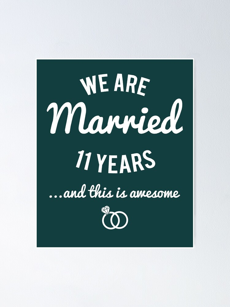 Jahre bilder 11 verheiratet 11Jahre verheiratet,