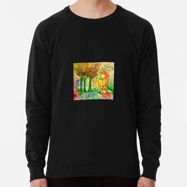 Fantasy Garden  Lightweight Sweatshirt