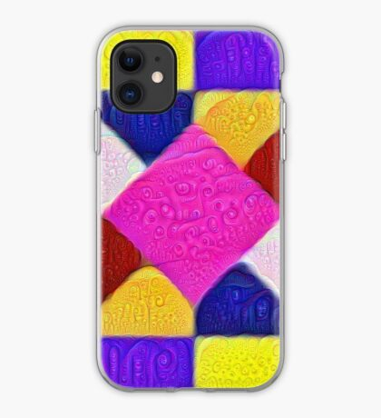 DeepDream Color Squares Visual Areas 5x5K v1447942584 iPhone Case