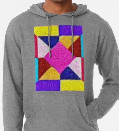 DeepDream Color Squares Visual Areas 5x5K v1447942584 Lightweight Hoodie