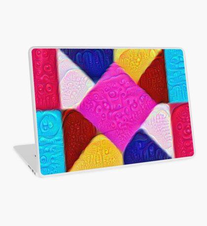 DeepDream Color Squares Visual Areas 5x5K v1447942584 Laptop Skin