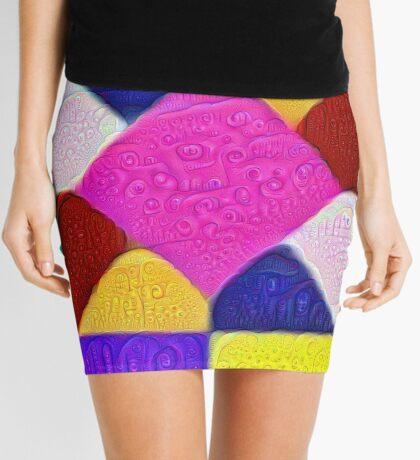 DeepDream Color Squares Visual Areas 5x5K v1447942584 Mini Skirt
