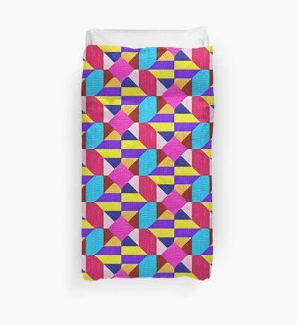 DeepDream Color Squares Visual Areas 5x5K v1447942584 Duvet Cover