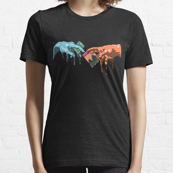 Grime Michelangelo Weed Essential T-Shirt