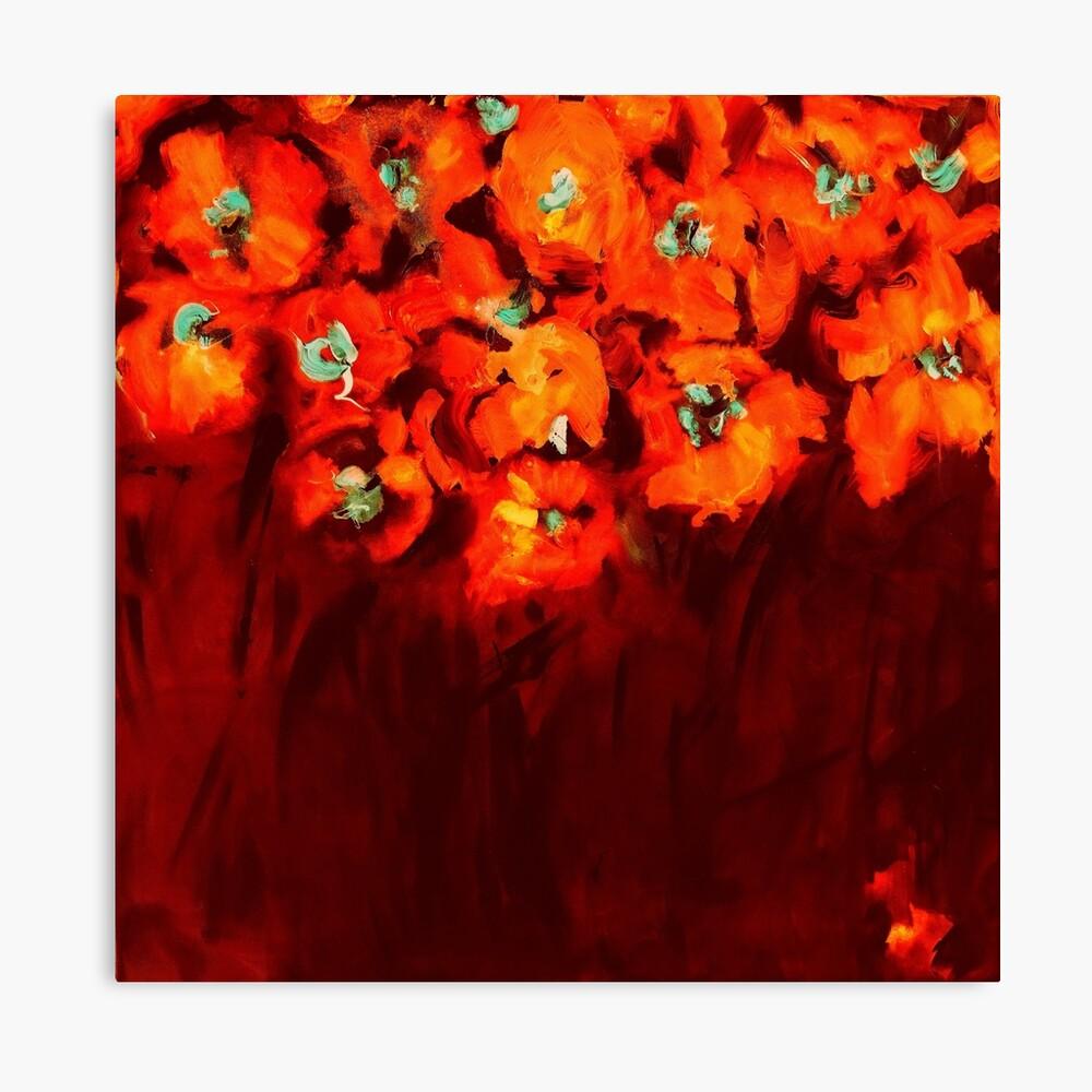 Habibiflo orange Canvas Print