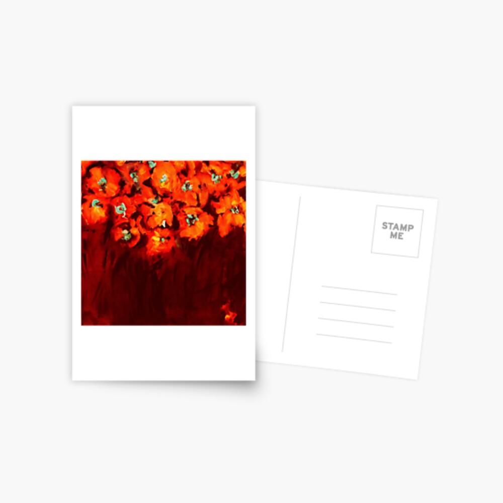 Habibiflo orange Postcard