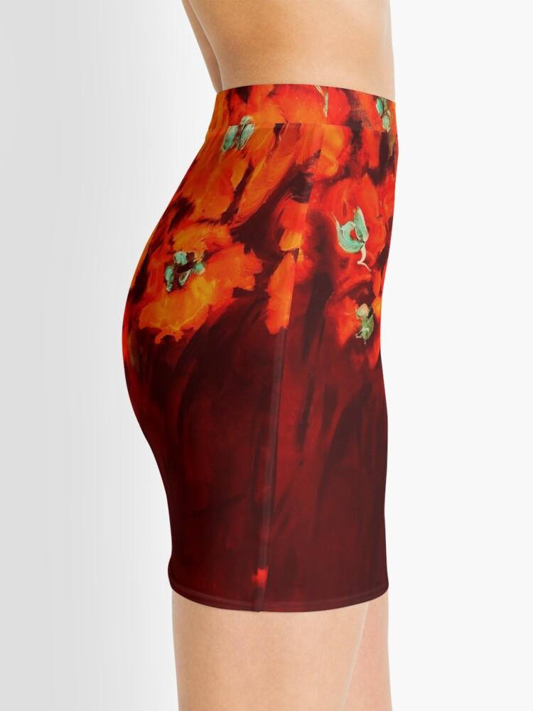 Alternate view of Habibiflo orange Mini Skirt
