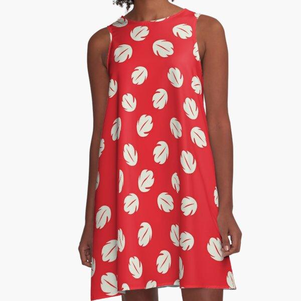 Im hawaiianischen Modus! A-Linien Kleid