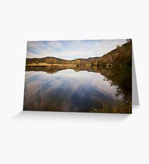 Reflections at Bedlam Greeting Card