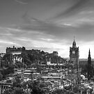 Edinburgh Panorama by Irina Chuckowree