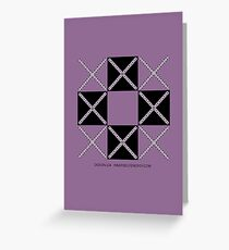 Design 224 Greeting Card
